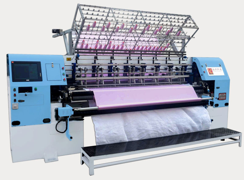 High Speed Shuttle Lock Stitch Quilting Machine for Bedspread Quilts Garments Sleeping Bags