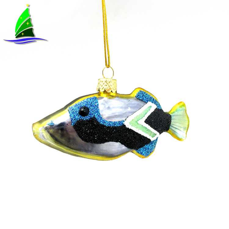 Hand Blow Glass Hanging Pendant