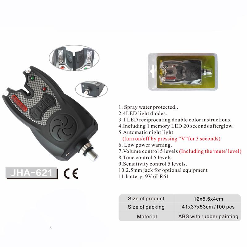 Digital Circuit Carp Fishing Waterproof Fishing Bite Alarm