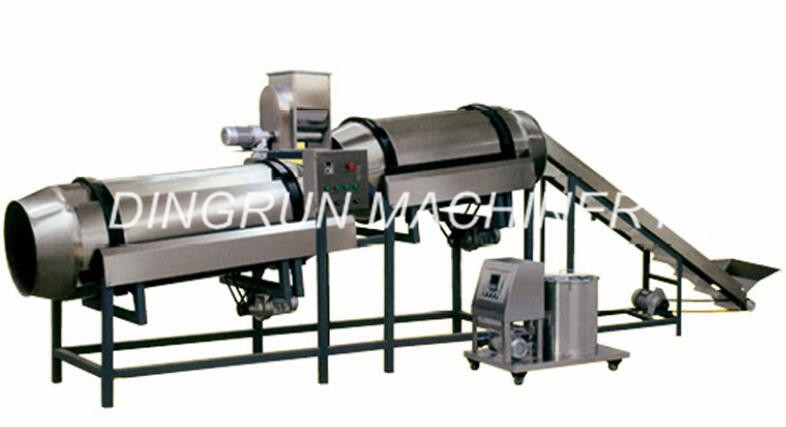 stainless steel puff snacks food processing machine