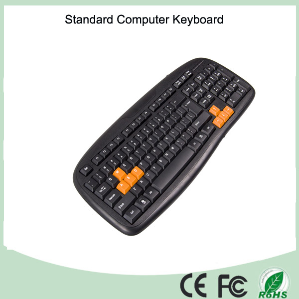 Free Sample Cheapest Wired Computer Key Board (KB-1988)
