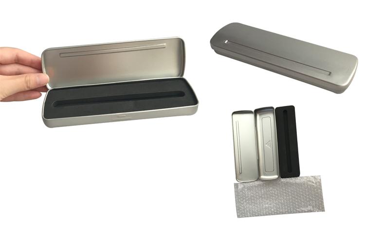 Matt Printing Metal Tin Pen Case Promotion Pencil Box Wholesale