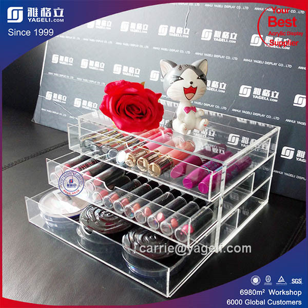 High Quality Clear Acrylic Lipstick Display Stand