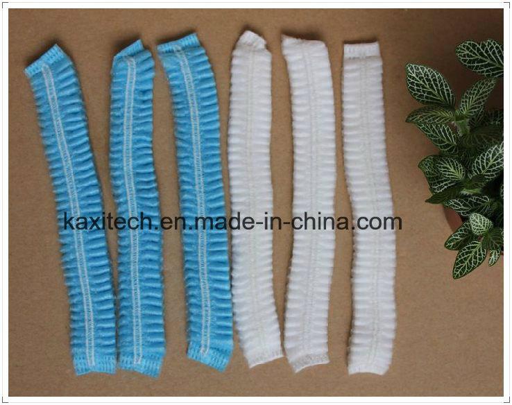 Disposable Non-Woven Hair Net Mob Cap Elastic Free Size