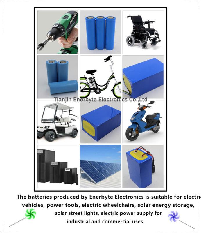 LiFePO4 Battery 24V 20ah for E-Scooter E-Bike E-Wheelchair
