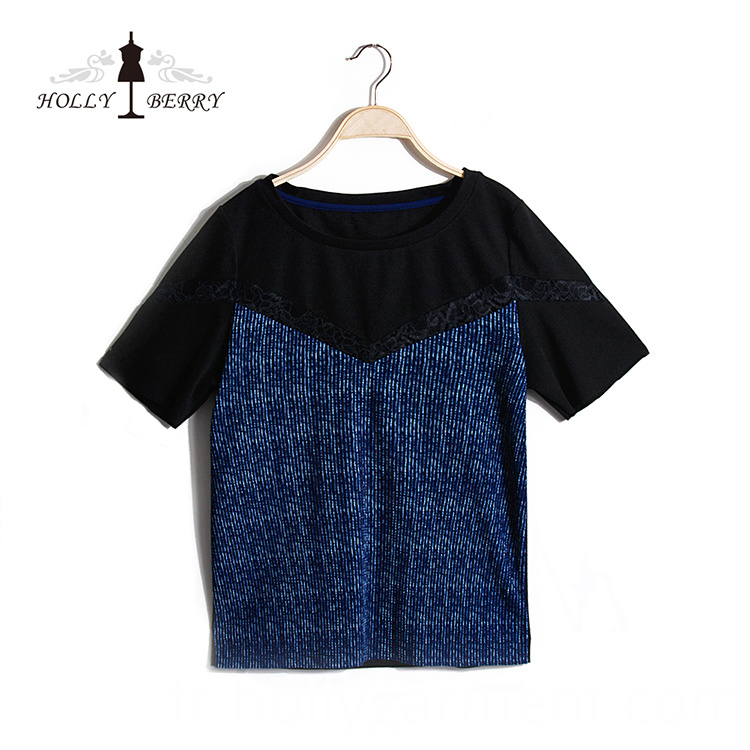 Navy Regular Blouse