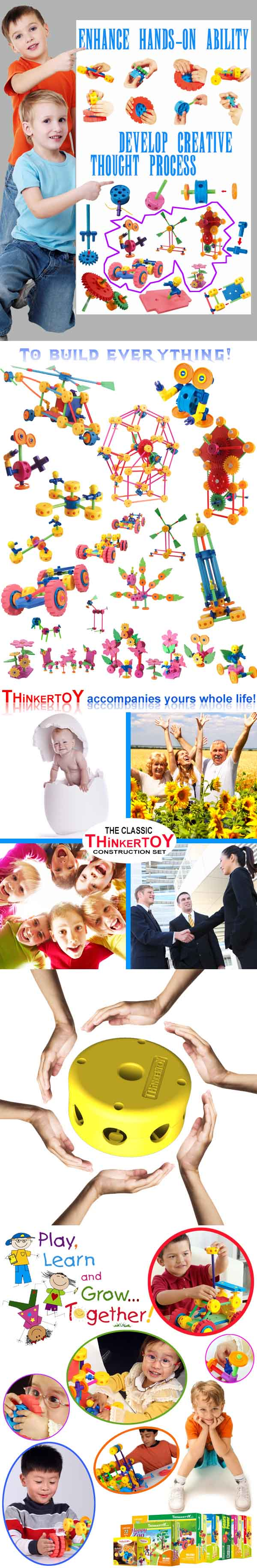Plastic Educational Toy for Children