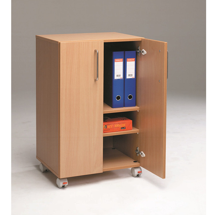 6751 Office Furniture MDF Wooden Document Cabinet 3-Step