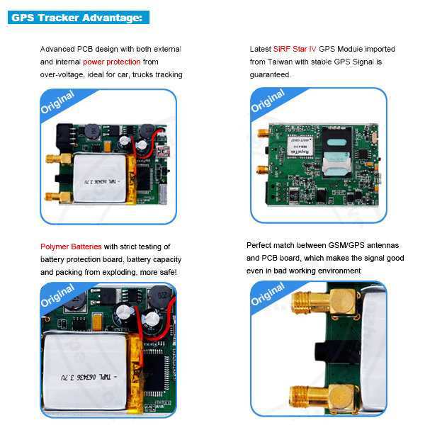 GPS Tracking System with Speed Limiter, RFID (TK510-KW)