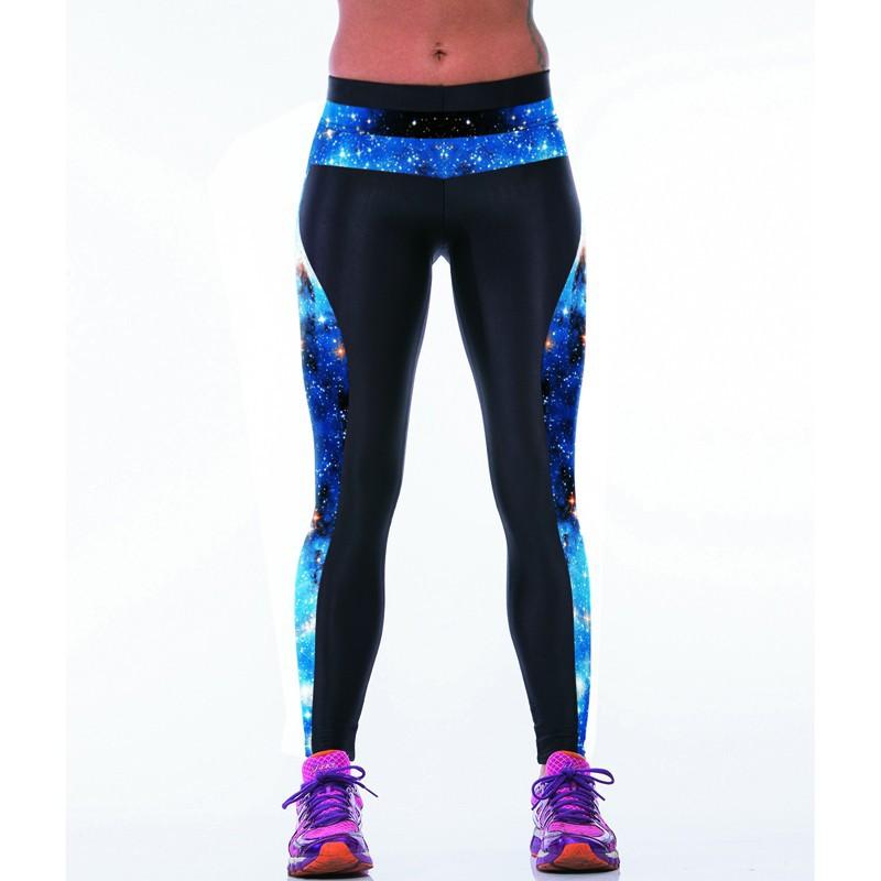 New Fashion Multi-Color Women 3D Print Legging High Waist Gym Yoga Running Sports Pants Good Quality Low Price