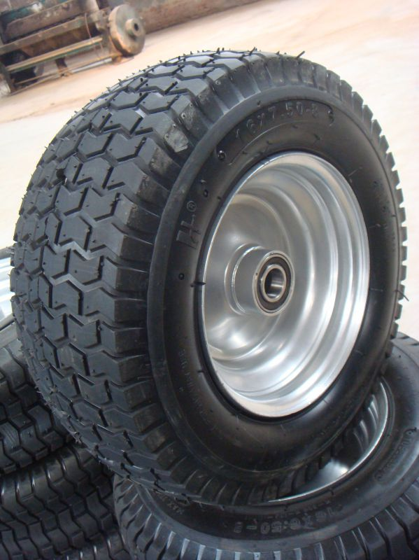 6 Inch Semi-Solid Rubber Tire for Baby Toy Car