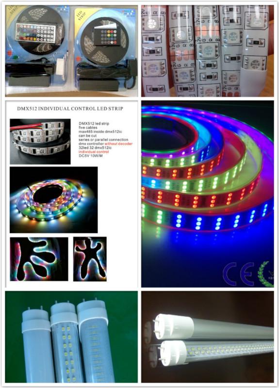 TM1812 SMD Flexible LED Strip CE RoHS RGB LED Strip