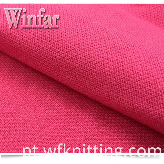 Breathable Soft Pique Polo Fabric