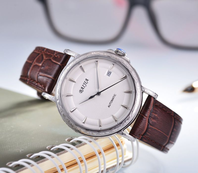 Men's Automatic Stainless Steel Wrist Watch