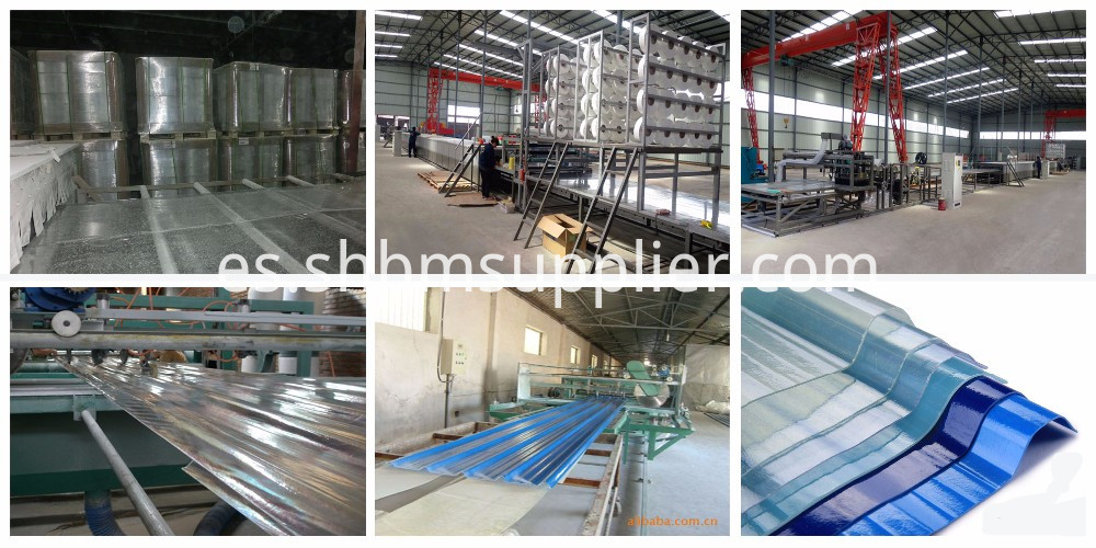 Anti Corrosion FRP UV Resistant Roofing Sheet