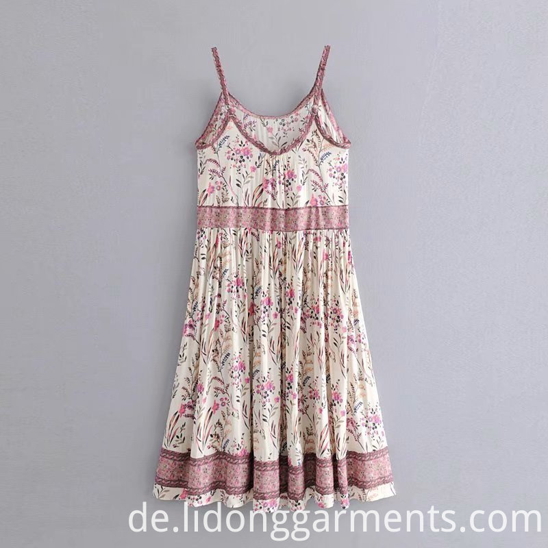 Beach Wear Women Sling Dress