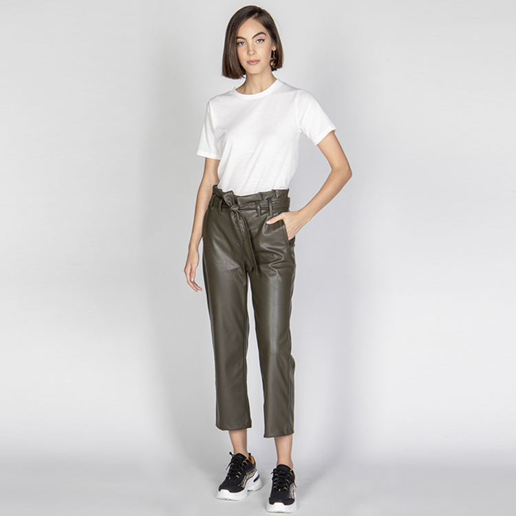 Pu Women Pants