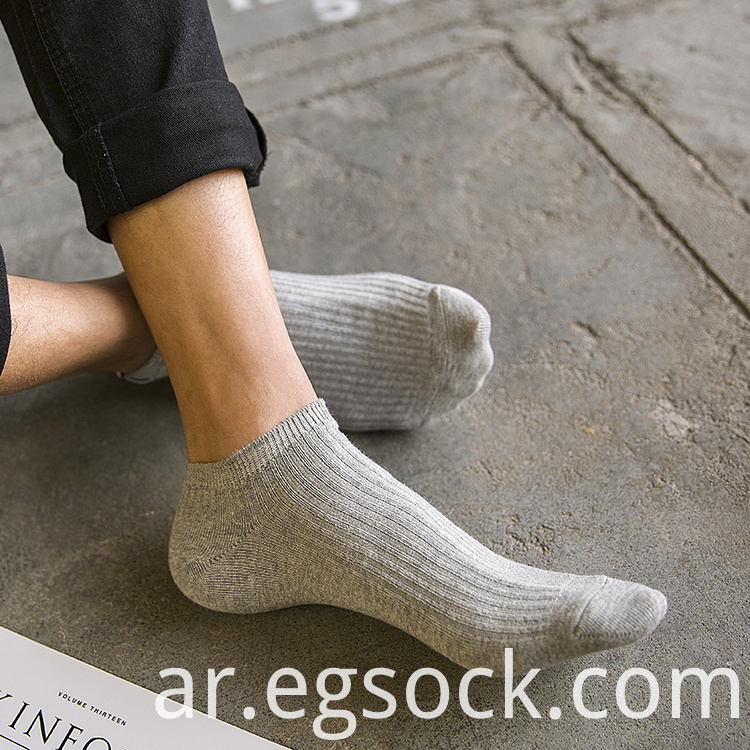invisible cotton socks for men