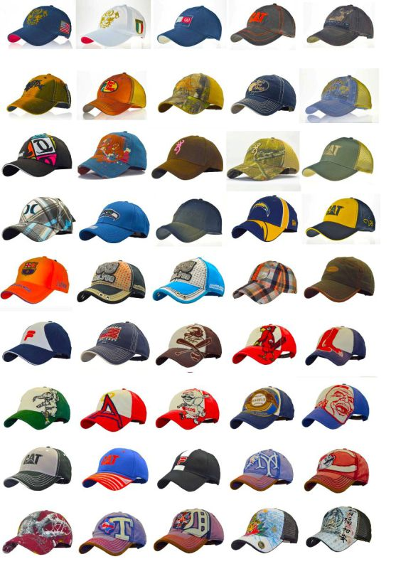 Fashion Jeans Baby Caps with Soft Visor