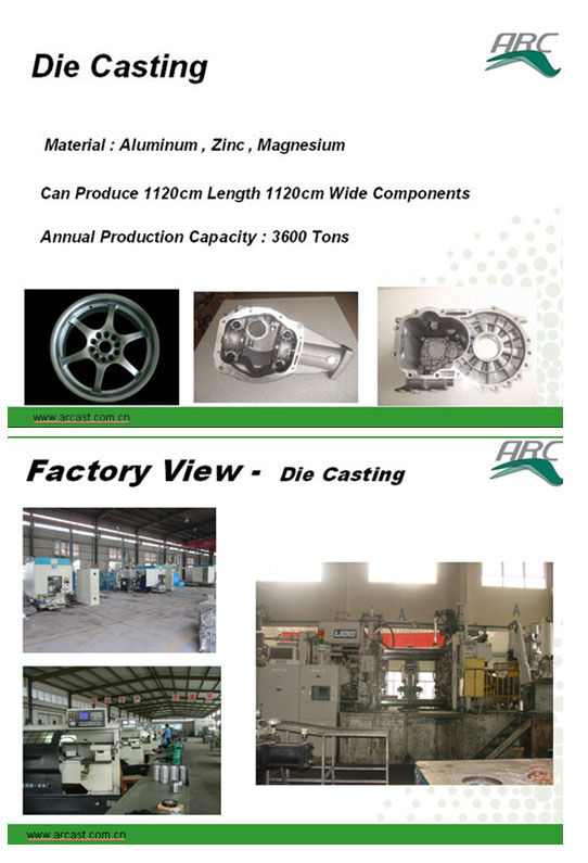 OEM Aluminum Alloy Die Casting Parts for Heating Radiator