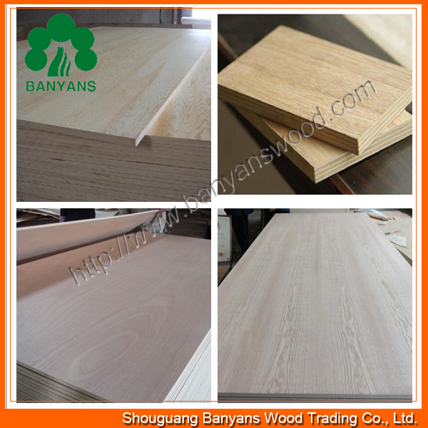 Melamine Faced Plywood/Fiberglass Plywood Panel/Different Types of Plywood