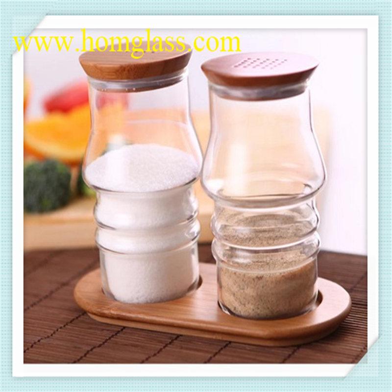 Heat Resistant Glass Milk Bottle Jar Storage by Pyrex Borosilicate Glass