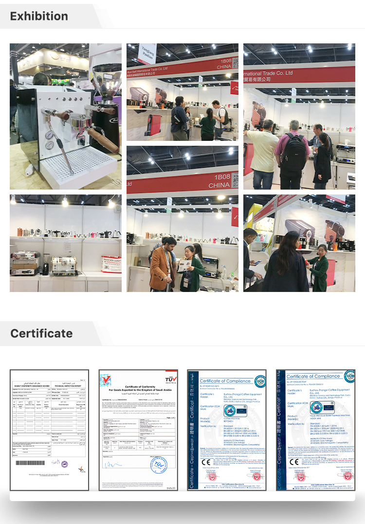commercial automatic coffee machines exhibiton