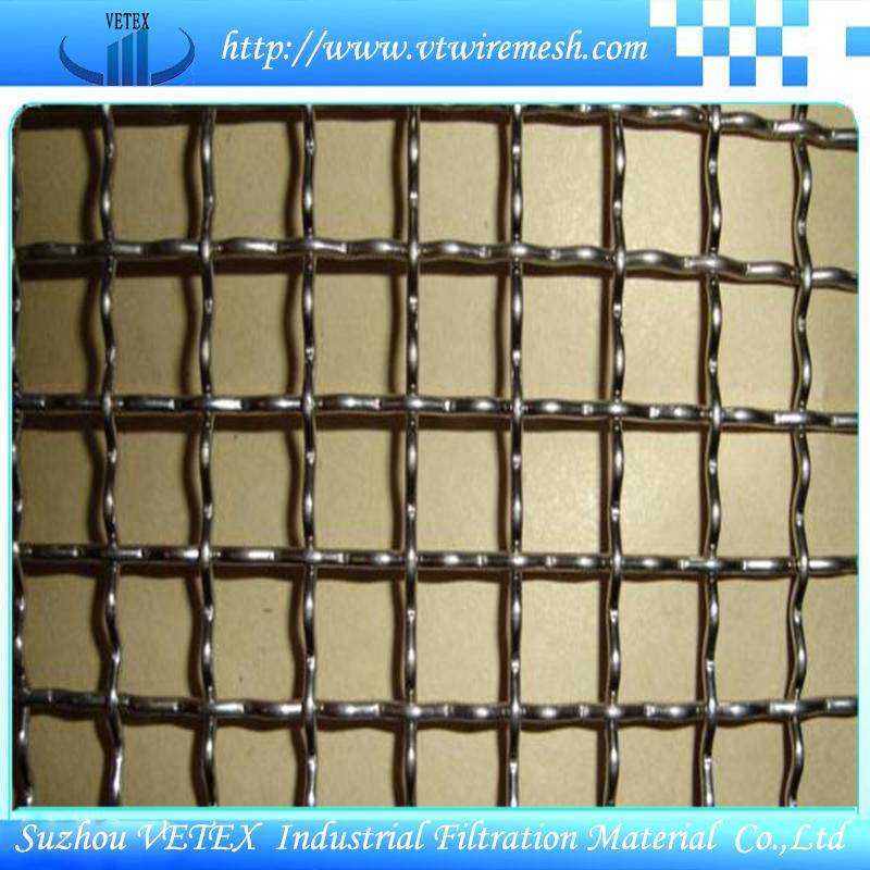 Iron Crimped Woven Mesh Square Wire Mesh