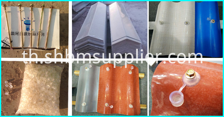High strength step tile roofing sheet