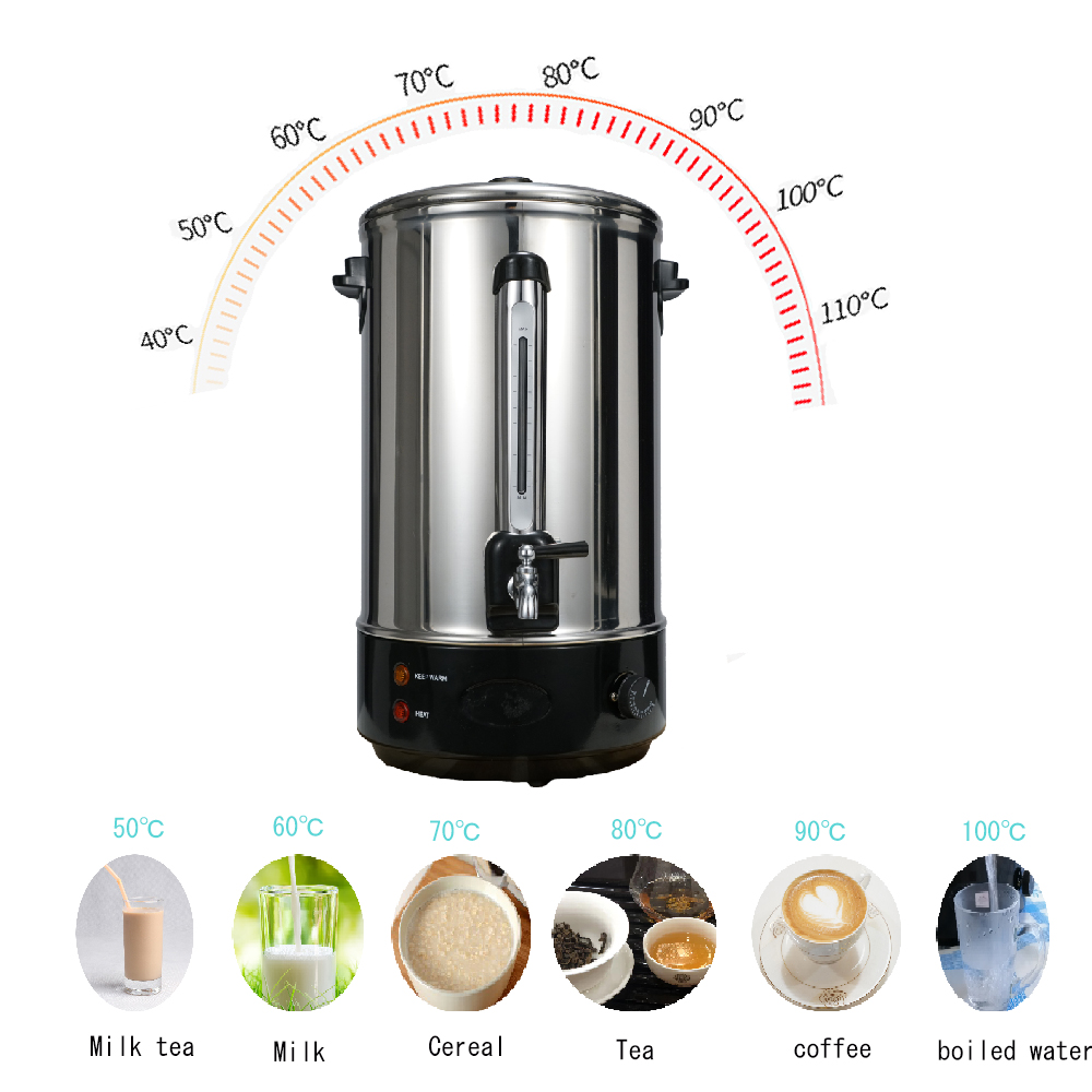Electric hot water dispenser for tea