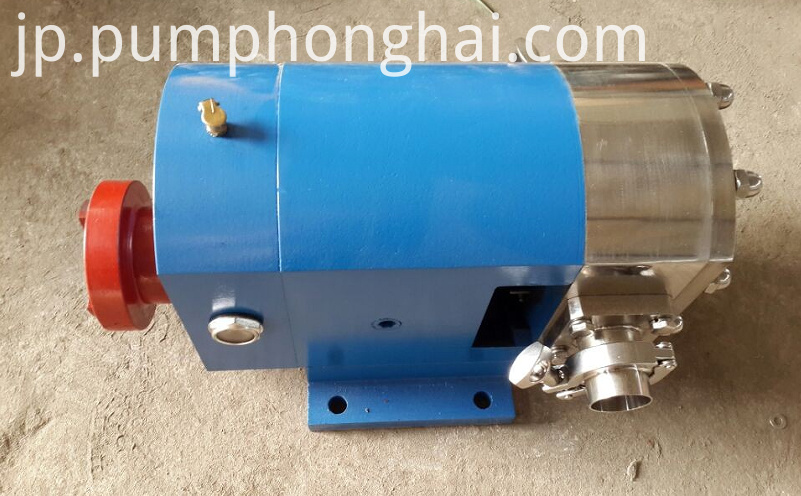 3RP stainless steel rotary lobe pump