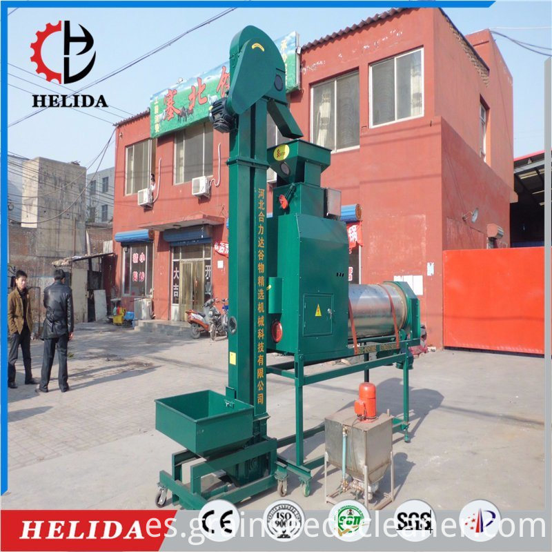 maize seed coating machine