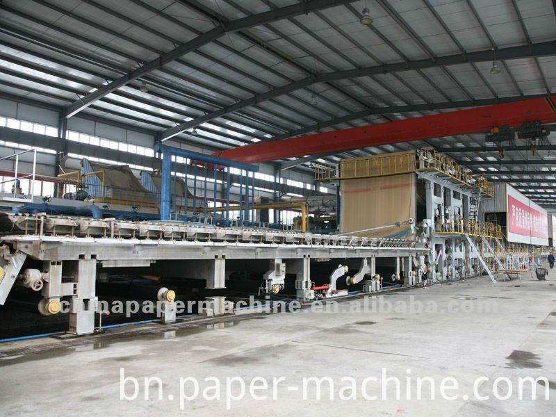 Fluting Papermaking Machine