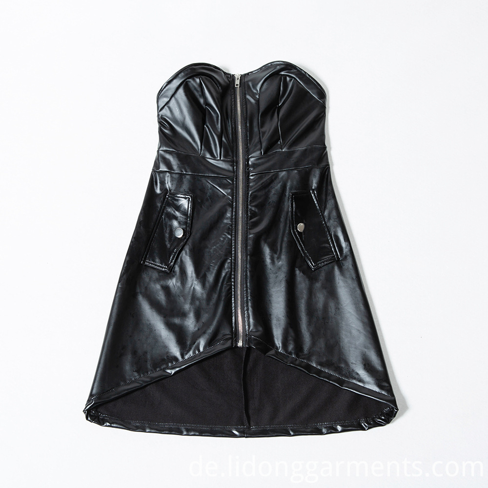 Leather Dresses For Ladies