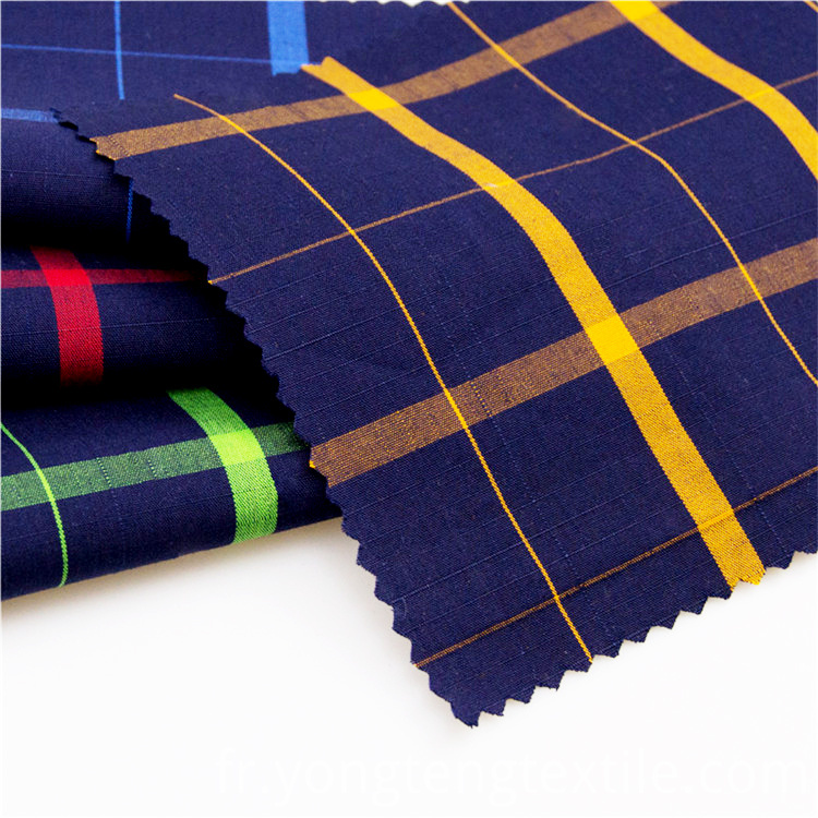 Colorful yarn dyed plaid fabric for plaid dress