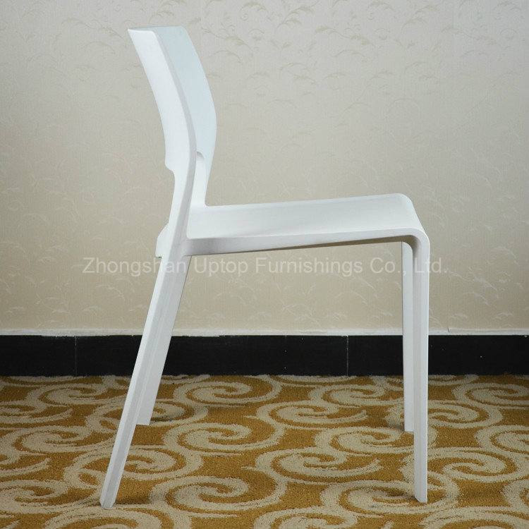Modern Outdoor Stacking Plastic Restaurant Chair (SP-UC512)