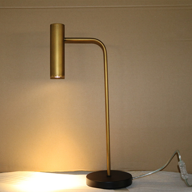 Living Room Decorative Bronzen Iron Reading Table/Desk Lamp