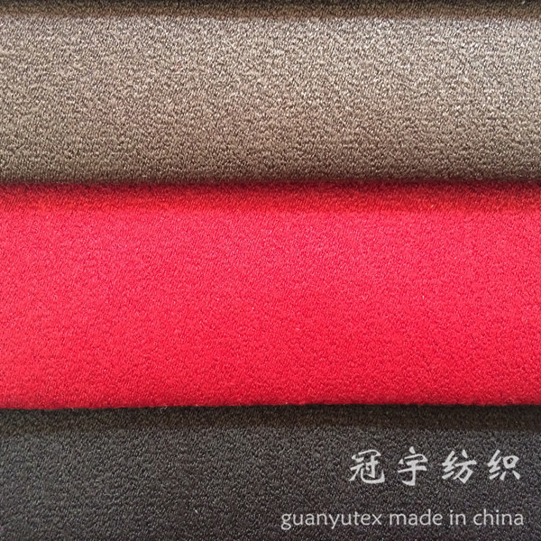 Polyester Leather Compound Suede Fabric for Furnitures