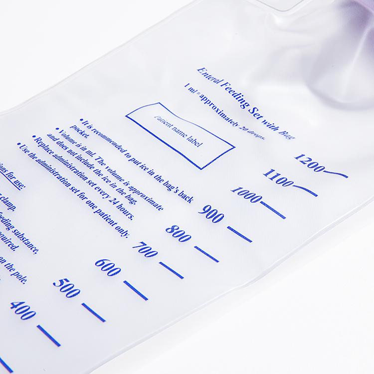 PVC enteral feeding bag