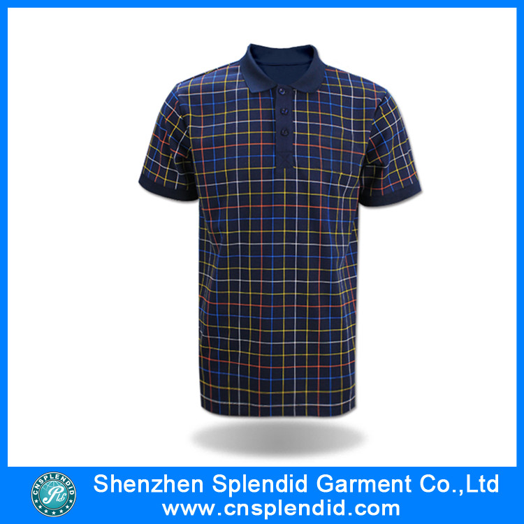 2016 Fashion Clothes Cotton Polo Shirt with High Quality