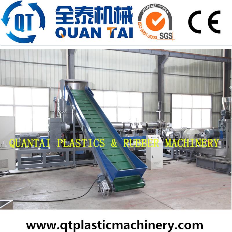Waste BOPP PE Film Recycling Plastic Granule Making Machine Price