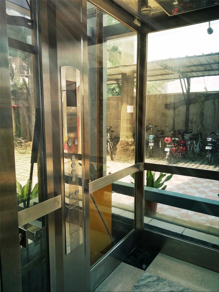 300kilos 4 Persons Factory Price Glass Villa Home Small Lift