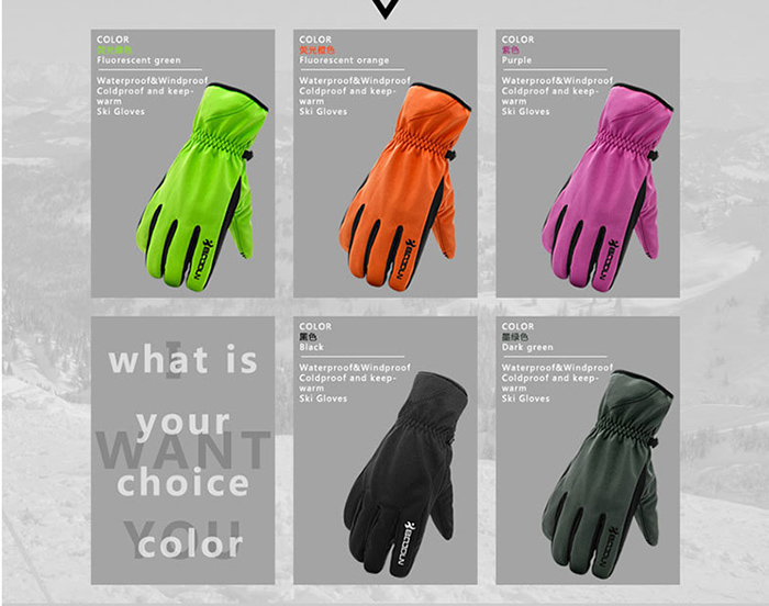 Insulate Highest Quality Winter Snow Ski Gloves