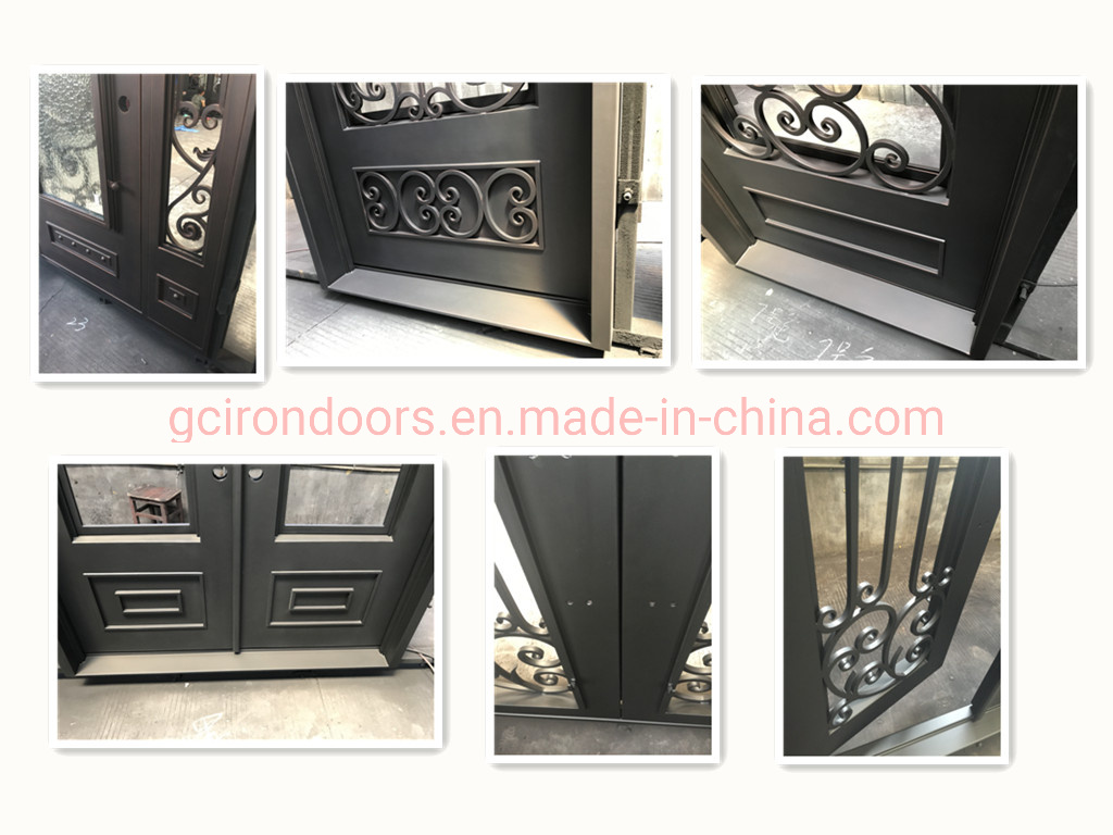 Customed Fireplace Front Door Made in Screen