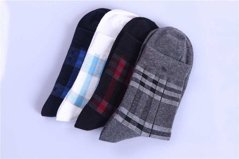 Men Business Cotton Socks Classic Customed Designs