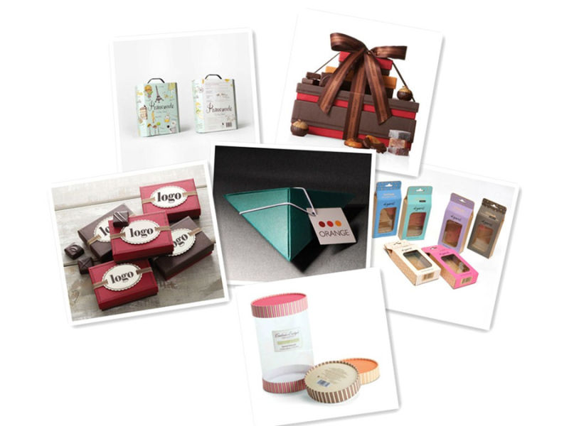 Fancy Custom Chocolate Art Paper Packaging Box