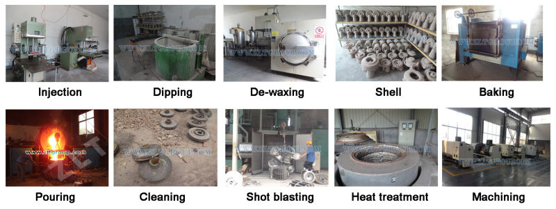 Machinery Parts for Stainless Steel Spare Parts