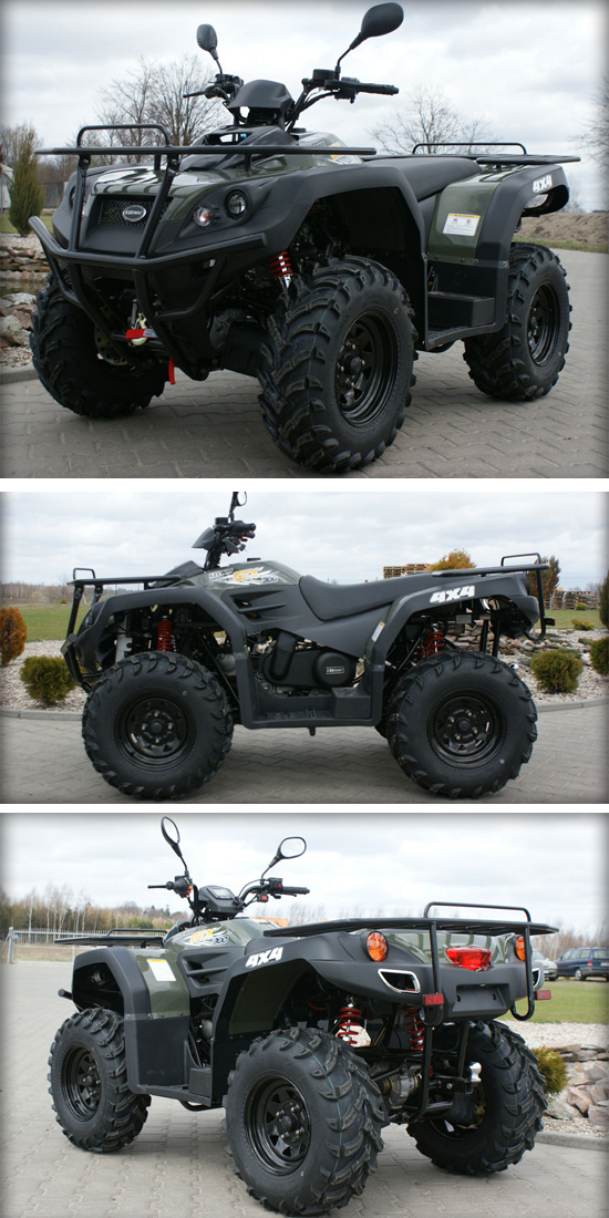 Keeway 300cc 4X4 Automatic CVT 2 Seaters Cheap Racing ATV
