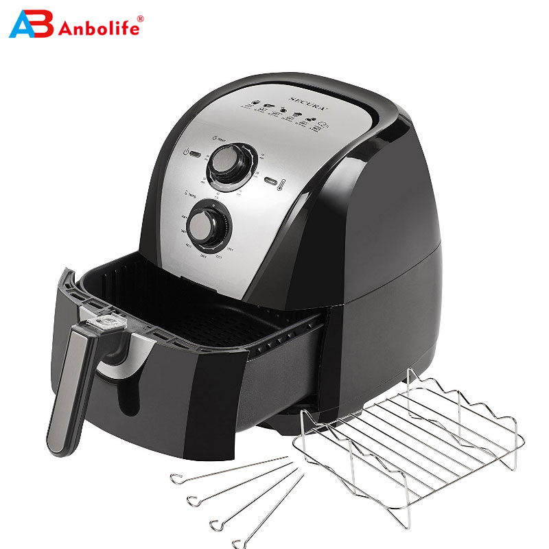 Djustable Timer Temperature Air Fryer