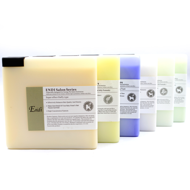 Customized dog shampoo natural private label